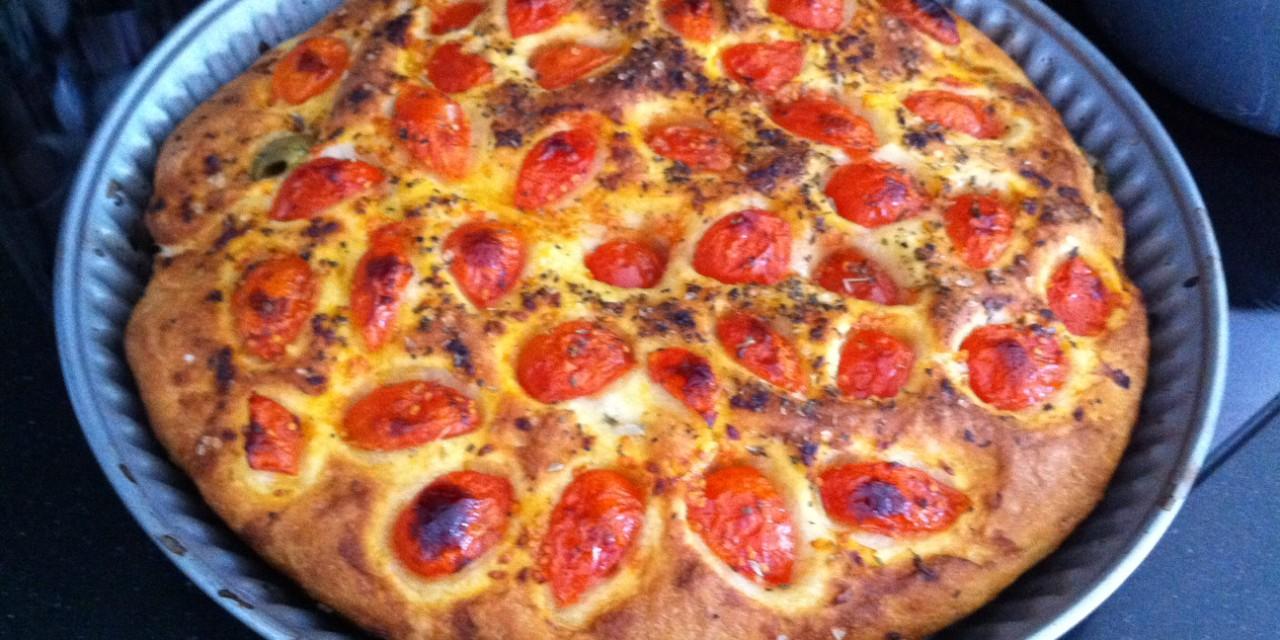 Focaccia Puglia Style
