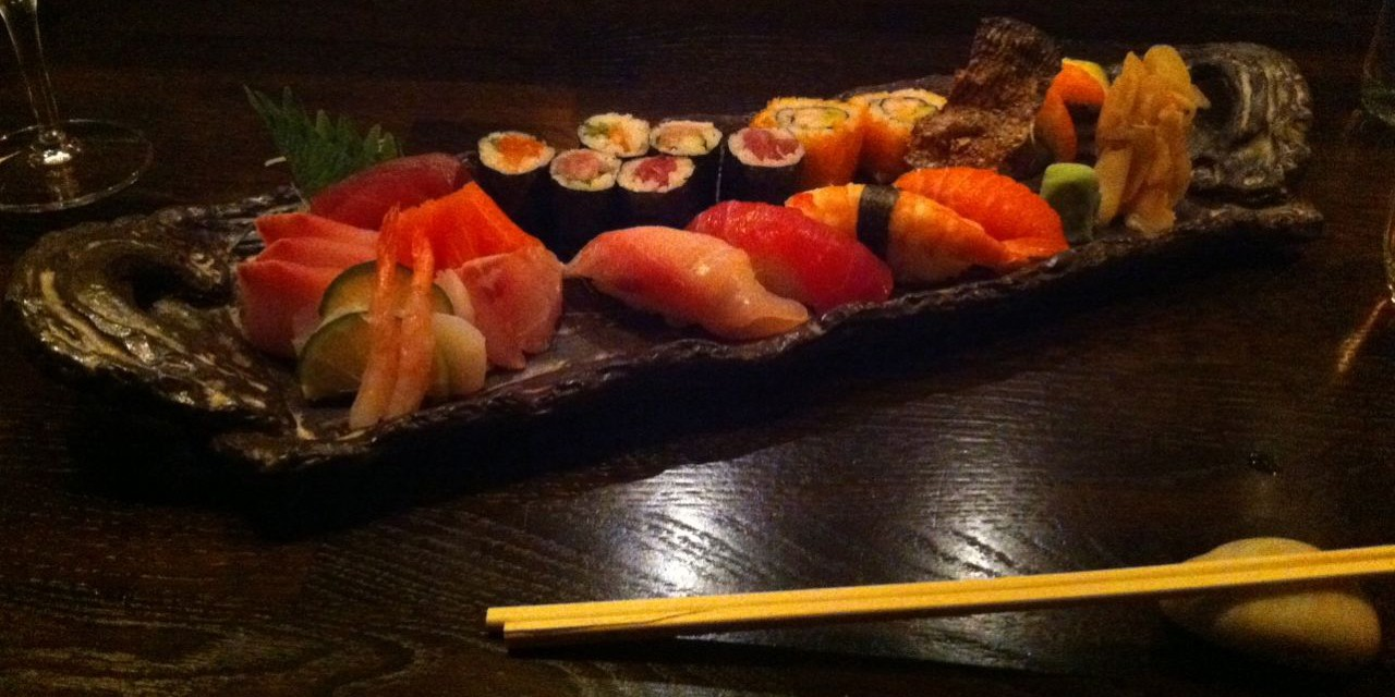 Sushi at Ginger – Zurich