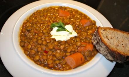 Winter time = Lentil Soup