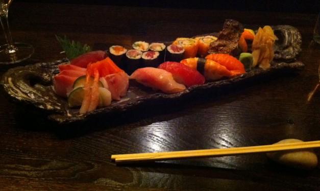 Sushi at Ginger – Zurich