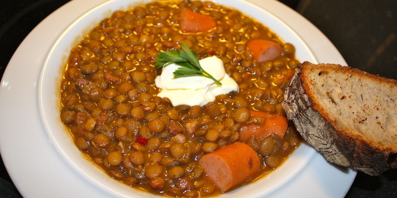 Winter time = Lentil Soup