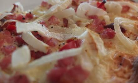 Tarte Flambée – Flammkuchen